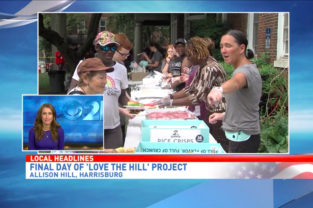 Wildheart Ministries celebrates beautification of Allison Hill with block party (CBS 21)